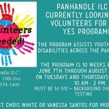 Volunteers Needed: Panhandle ILC