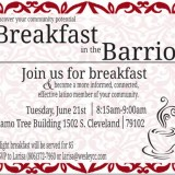 Breakfast in the Barrio – 6/21/2016