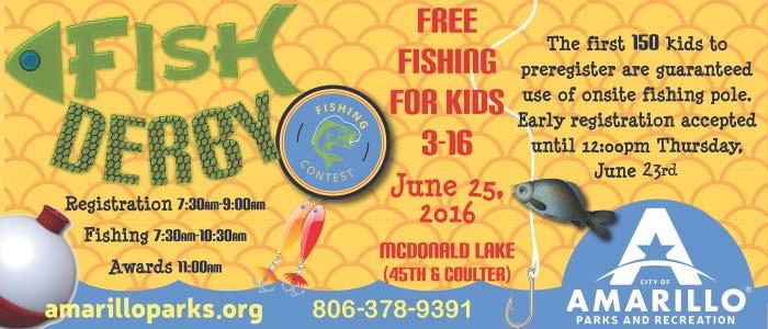 Fish Derby @ McDonald Lake | Amarillo | Texas | United States