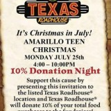 Amarillo Teen Christmas – 7/25/2016