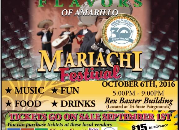Flavors of Amarillo Mariachi Festival – 10/6/2016