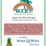 Give Back Night at Bahama Buck's – 8/16/2016