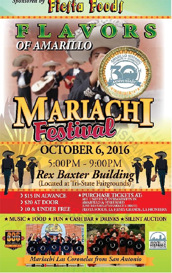 Flavors of Amarillo Mariachi Festival @ Rex Baxter Building  | Amarillo | Texas | United States