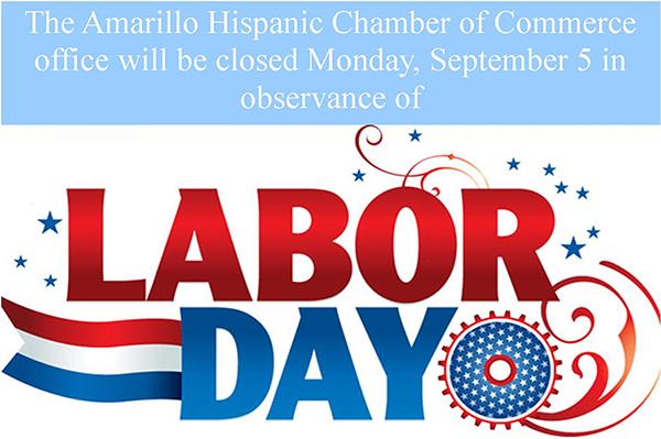 AHCC closed for Labor Day @ Amarillo Hispanic Chamber of Commerce | Amarillo | Texas | United States