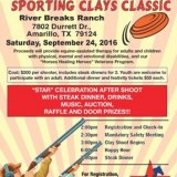 Shoot for the Stars Sporting Clays Classic – 9/24/2016
