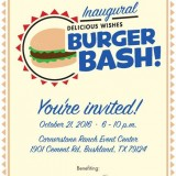 Inaugural Delicious Wishes Burger Bash – 10/21/2016
