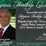 Hispanic Heritage Luncheon – 10/12/2016