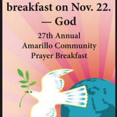 27th Annual Amarillo Community Prayer Breakfast – 11/22/2016