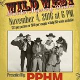 Wild West Murder Mystery Dinner – 11/04/2016
