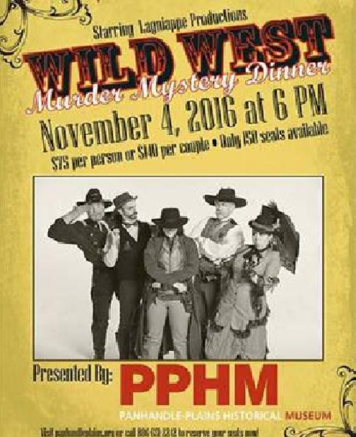Wild West Murder Mystery Dinner