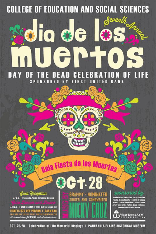 Seventh Annual Dia de los Muertos @ Panhandle Plains Historical Museum | Canyon | Texas | United States