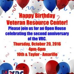 Happy Birthday Veteran Resource Center – 10/20/2016