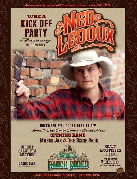 WRCA Kick Off Party @ Amarillo Civic Center Complex- Grand Plaza | Amarillo | Texas | United States