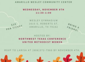 Thankful Together Luncheon – 11/9/2016