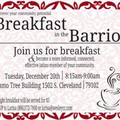 Breakfast in the Barrio – 12/20/16