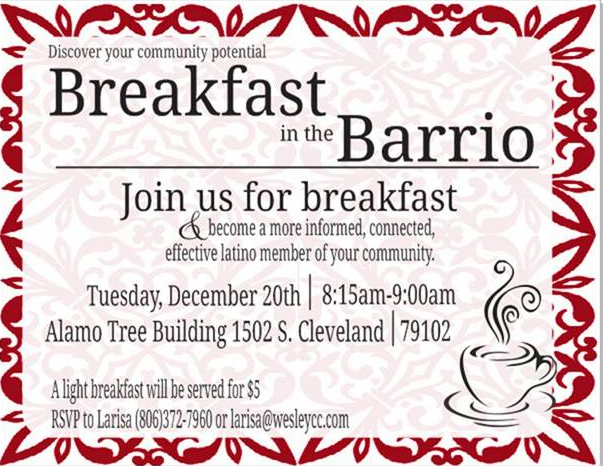 Breakfast in the Barrio @ Alamo Tree Building | Amarillo | Texas | United States