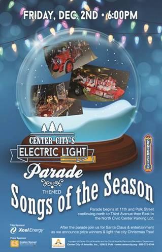 Center City's Electric Light Parade @ Amarillo | Texas | United States