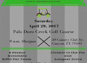 Amarillo Wesley Community Center 15th Annual Golf Tournament – 4/29/2017