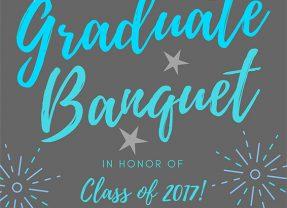 Graduate Banquet – 4/27/2017