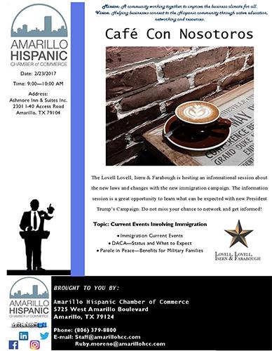 Cafe Con Nosotros @ Amarillo | Texas | United States