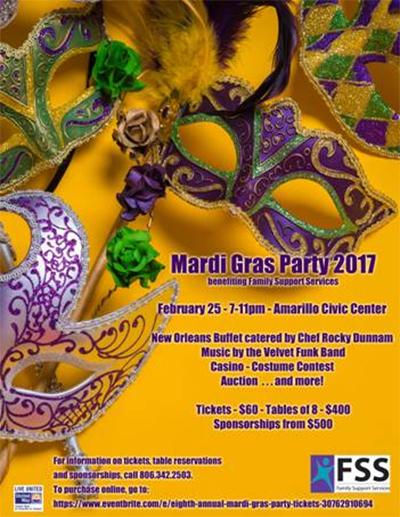 Mardi Gras Party 2017 @ Amarillo Civic Center | Amarillo | Texas | United States