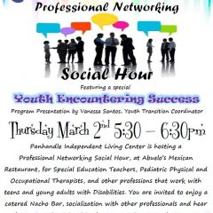 Professional Networking Social Hour – 3/2/17