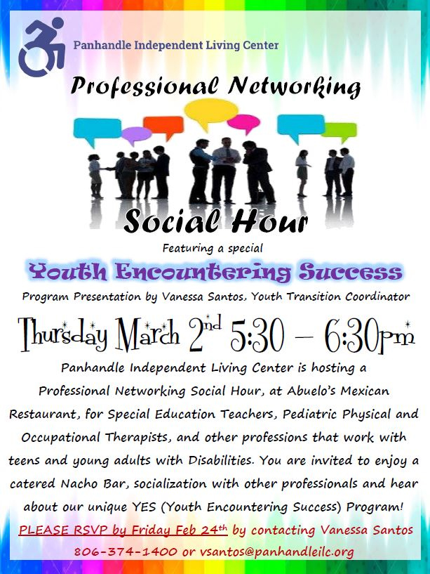 Professional Networking Social Hour @ Abuelos Mexican Restuarant | Amarillo | Texas | United States