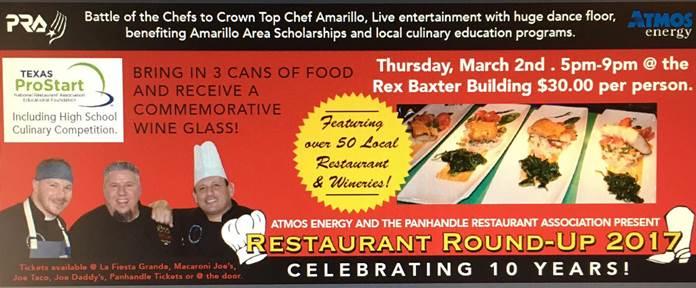 Restaurant Round Up @ Amarillo | Texas | United States