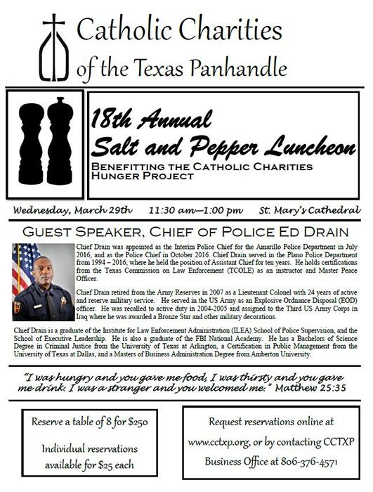 18th Annual Salt & Pepper Luncheon @ Amarillo | Texas | United States