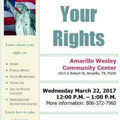 Know Your Rights – 3/22/17