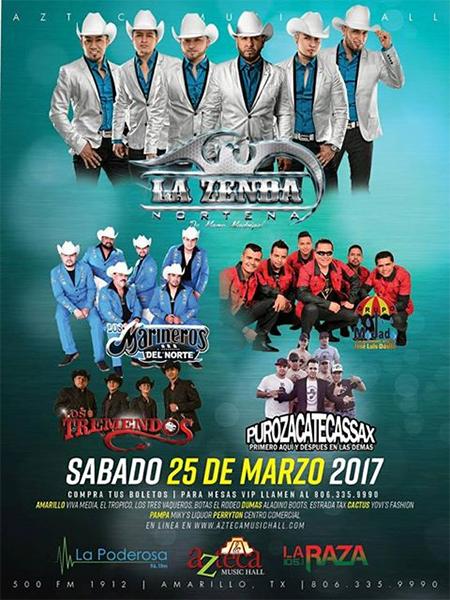 Azteca Concerts – La Zenda @ Amarillo | Texas | United States