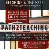 Path 2 Teaching – 3/30/17