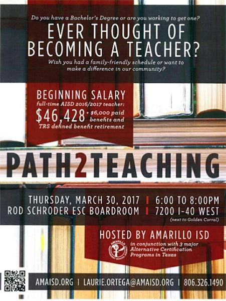Path 2 Teaching @ Amarillo | Texas | United States