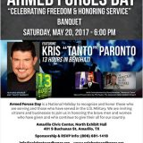 Armed Forces Day – 5/20/17