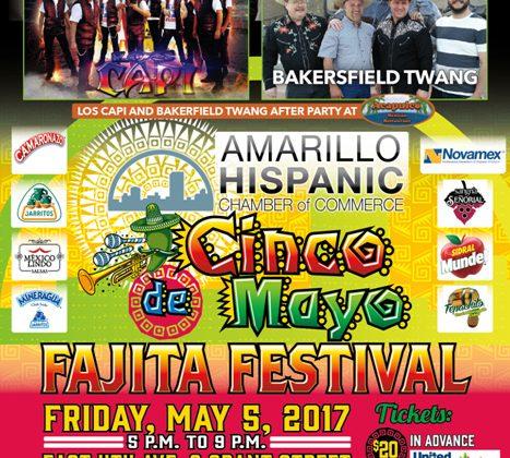 Cinco de Mayo Fajita Festival – 5/5/17