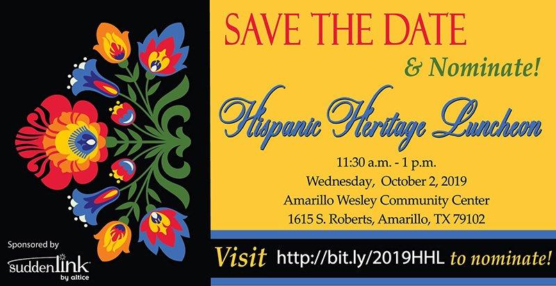 Hispanic Heritage Luncheon @ Amarillo Wesley Community Center