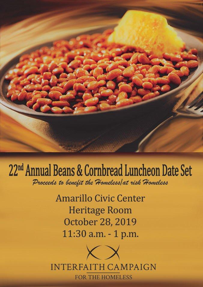 Beans & Cornbread Lunch @ Amarillo Civic Center Heritage Room