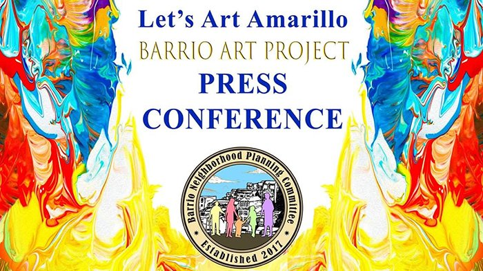 Let's Art Amarillo - The Barrio Project Press Conference